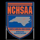 NCHSAA Track Wrestling logo